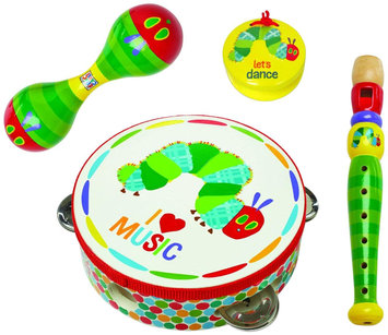 The World of Eric Carle The Very Hungry Caterpillar Instrument Gift Set-Boxed