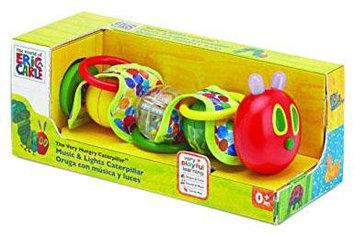 The World of Eric Carle The Very Hungry Caterpillar Wiggle Rattle Toy with Music and Lights