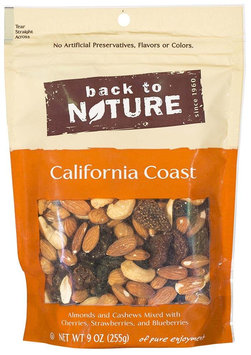 Back to Nature California Coast Blend Trail Mix, 9oz