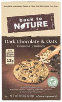 Back To Nature Dark Chocolate & Oats Cookie