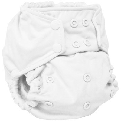 Rumparooz Pocket Cloth Diaper - White