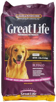 Great Life Grain and Potato Free Buffalo Dry Dog Food