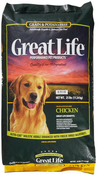 Great Life Grain Free Chicken Dog Food