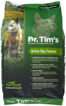 Dr Tims 5-Pursuit Active Dry Dog Food Size: 30-lb bag