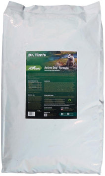 Dr Tims Pursuit Active Dry Dog Food 44lb
