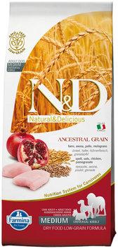 Farmina Pet Foods Farmina Natural and Delicious Ancestrial Grain Chicken Recipe Dry Dog