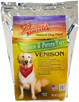 Great Life Pioneer Naturals Grain Free Venison Dry Dog Food 8 lb.