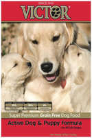 Victor Dog Food Grain-Free Active Dog & Puppy for All Life Stages - Beef - 30
