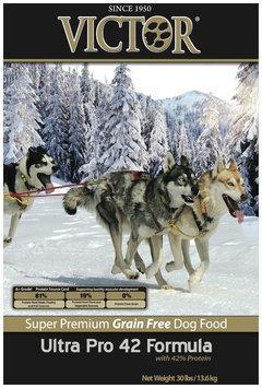 Victor Dog Food Grain-Free Ultra Pro 42 Formula - Chicken - 30