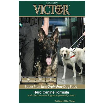 Victor Dog Food Grain-Free Hero Canine Formula with Glucosamine - Beef - 30