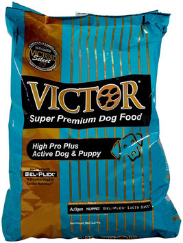 Victor Dog Food Select Hi-Pro Plus Active Dog & Puppy - Beef - 5