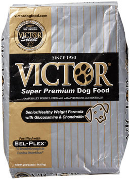 Victor Dog Food Senior Healthy Weight with Glucosamine and Chondroitin - Beef