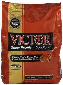 Victor Dog Food Select - Brown Rice with Lamb Meal - 5