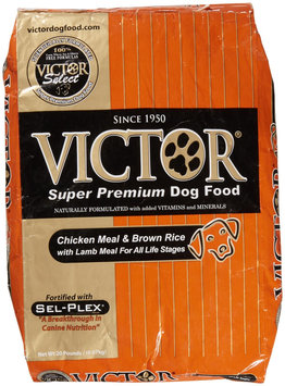 Victor Dog Food Select - Brown Rice with Lamb Meal