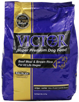 Victor Dog Food Select - Beef Meal and Brown Rice - 5