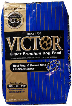 Victor Dog Food Select - Beef Meal and Brown Rice