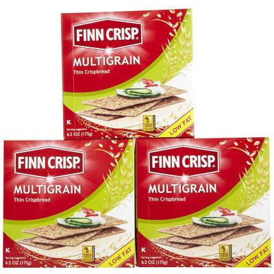Finn Crisp Multigrain Thin Crisp, Boxes, 6.2 oz, 3 pk