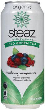 Steaz Iced Green Tea W/ Pomegranate & Blueberry, 16oz, 12pk