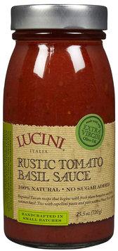Lucini Rustic Tomato Basil Pasta Sauce, 25.5 oz