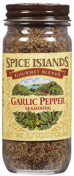 Spice Island Garlic Pepper, 2.7 oz