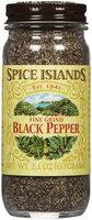Spice Island Black Ground Pepper, 2.1 oz