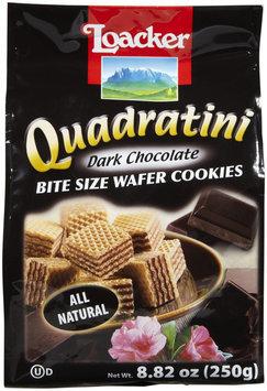 Loacker Dark Chocolate Wafer Cookies, 8.8 oz