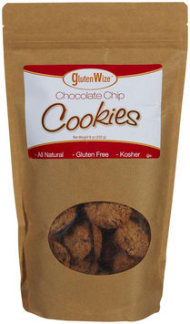 Glutenwize Chocolate Chip Cookies, 9 oz