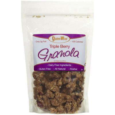 GlutenWize Soft & Chewy Granola Triple Berry 12 oz