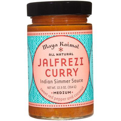 Maya Kaimal All Natural Indian Simmer Sauce - Jalfrezi Curry - 12.5 oz
