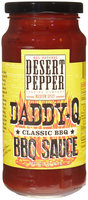 Desert Pepper Barbecue Sauce - Daddy Q Classic - 16 oz
