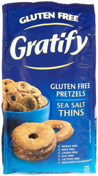 Gratify BG13973 Gratify Pretzel Thins GF - 6x10.5OZ