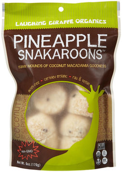 Laughing Giraffe Organic Snakaroons, Pineapple - 1 ct.