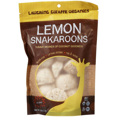 Laughing Giraffe Organic Snakaroons, Lemon - 1 ct.