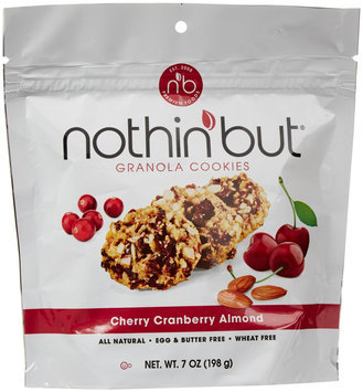 Nothin' But All Natural Granola Cookies Cherry Cranberry Almond 7 oz