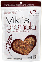Vikis Granola Viki's Granola All Natural Granola, Cranberry Walnut - 1 ct.