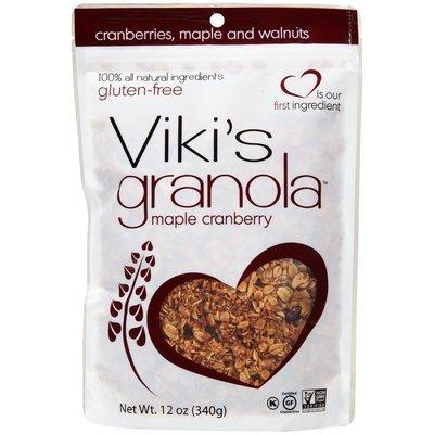 Vikis Granola Viki's Granola All Natural Granola, Cranberry Walnut - 1 ct.