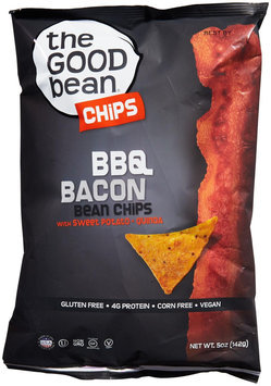 The Good Bean Gluten Free Bean Chips BBQ Bacon 5 oz - Vegan