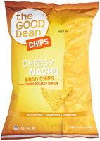 The Good Bean Gluten Free Bean Chips Cheesy Nacho 5 oz