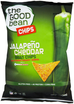 The Good Bean Gluten Free Bean Chips Jalapeno Cheddar 5 oz