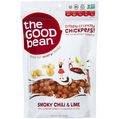 The Good Bean Chickpeas Snakes Smoky Chili & Lime 6 Oz Case Of 6