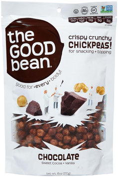 The Good Bean Chickpea Snack, Chocolate - 1 ct.