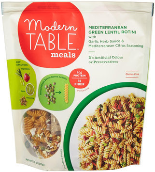 Modern Table Meals Mediterranean Green Lentil Rotini 11.7 oz