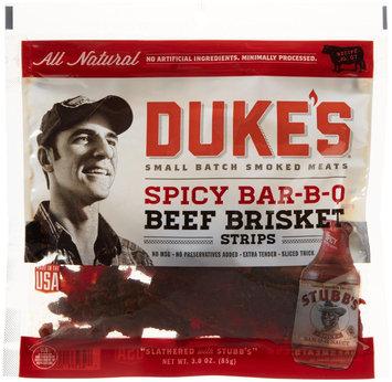 Dukes Duke's Jerky Steak Strips - Spicy Barbecue - 3 oz