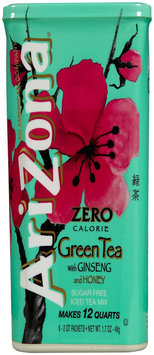 Arizona Green Tea with Ginseng Iced Tea Mix 6 Tubs