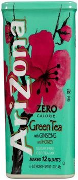 Arizona Green Tea with Ginseng Iced Tea Mix 6 Tubs