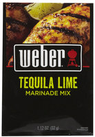 Weber Grill Tequila Lime Marinade-1.12 oz, 12 pk