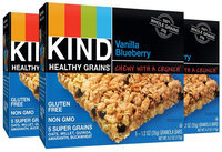 Kind Healthy Grains Granola Bars Vanilla Blueberry 3 Boxes