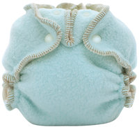 Kissa's Cotton Fleece Fitted Diaper- Sky Blue