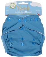Kissaluvs Marvels All in One Cloth Diaper - Snap - Lagoon Blue