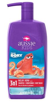 Aussie Kids Melon Head 3n1 Shampoo, Conditioner, Body Wash